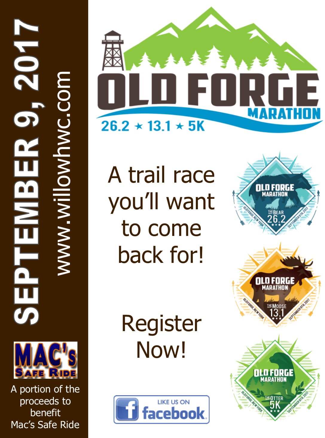 Old Forge Running Race